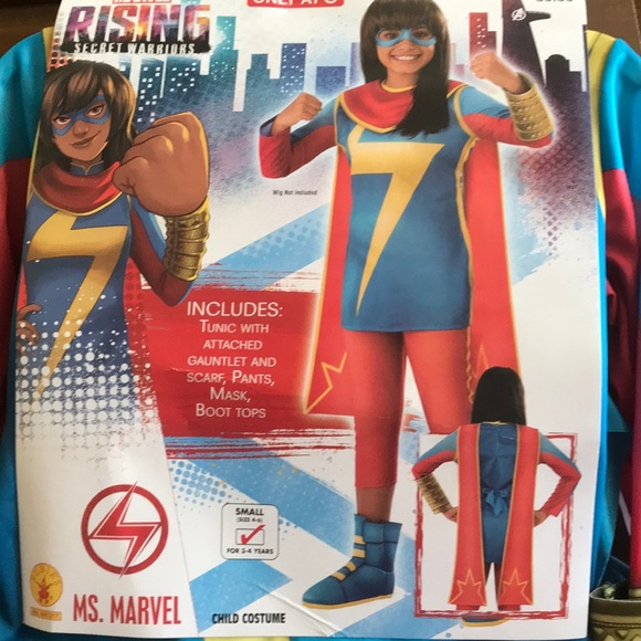 22bc38f33ca5f Marvel Costumes | Rising Secret Warriors Ms Costume S | Poshmark